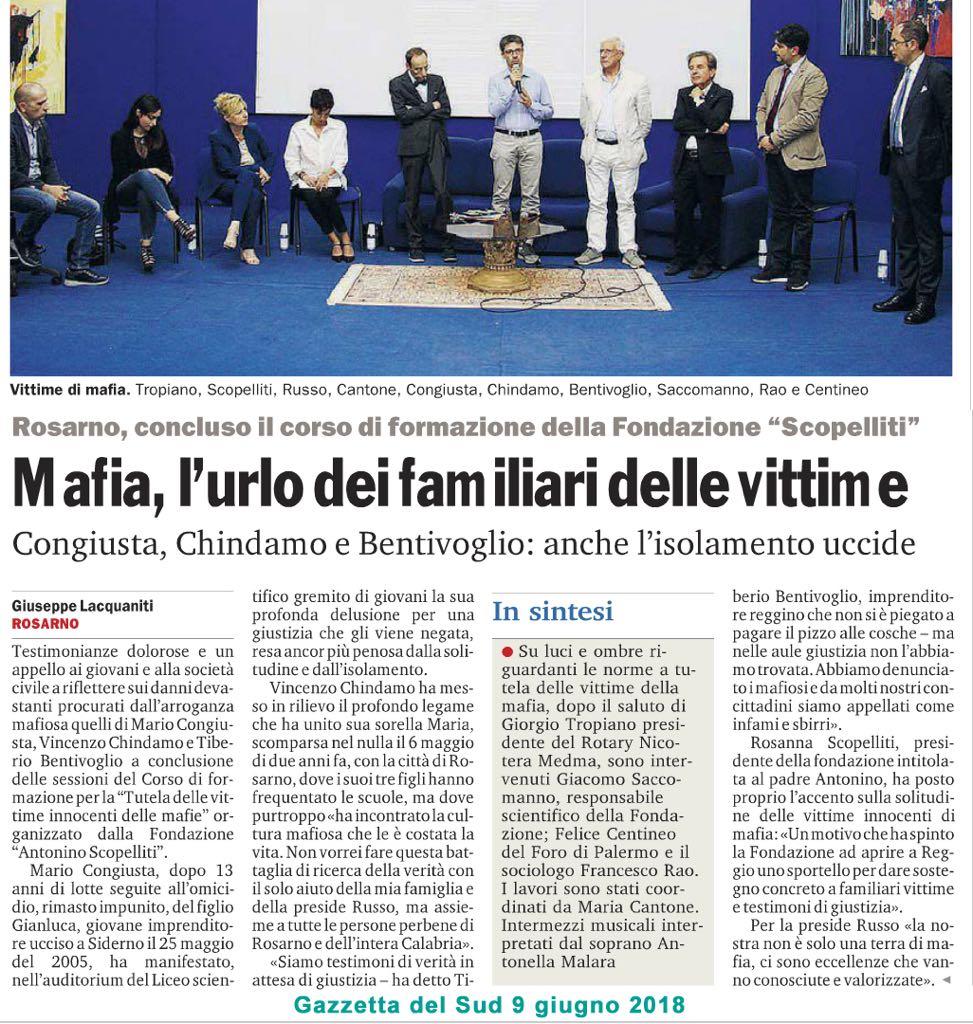 Mafia, l'urlo dei familiari
